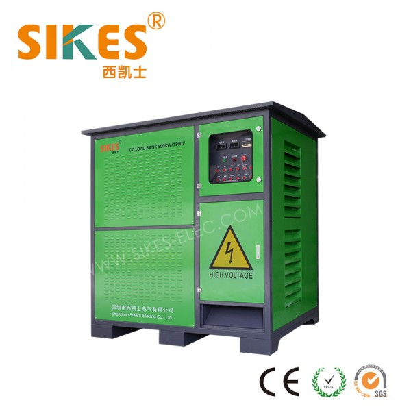 Resistive load bank 1500VDC, 500KW